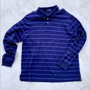 Polo Long Sleeve Mens XL